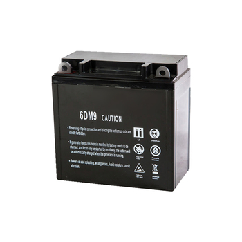 lead acid maintenance free 6dm9 rechargeable battery electric generator