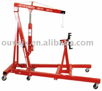2T Workshop Crane with 2000lbs Engine Stand with CE