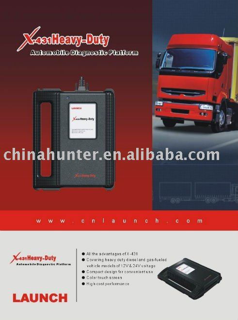 diagnostic scan tool Launch X431 Heavy Duty