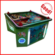 arcade I Love gumballs 4 Person Air Hockey Table Machine 4p mini air hockey with gumballs version ticket redemption game