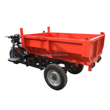 Licheng China made superior performance gasoline hydraulic tricycle