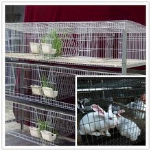 outdoor 3 layers popular mother and baby rabbit cages 50x60x45cm single cage