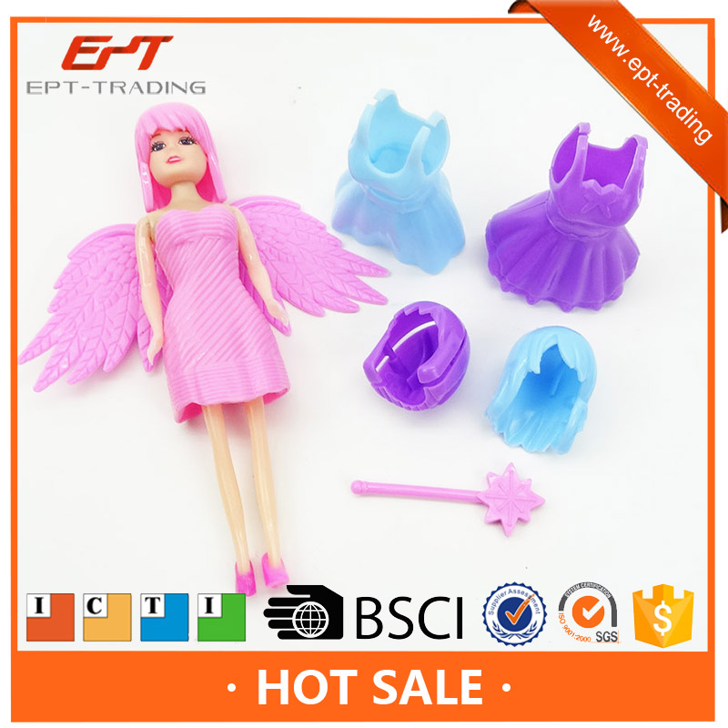 Diy fashion girl dolls baby doll toy and accessories