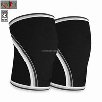 2016 Best Selling High Quality Compression Rubber 7 mm Knee Sleeves Wholesalers