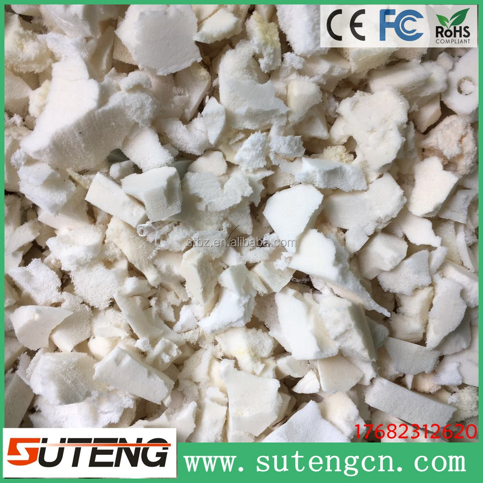 Natural latex foam rubber scrap with high quality