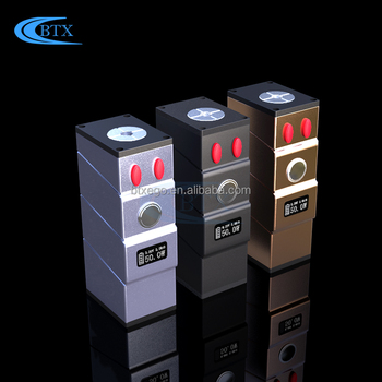 Box Mod 2018 0.2ohm coil tank 1900mah battery ecig mod vape pens ecig battery
