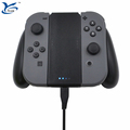 Charging handle grip charging stand for joy-con for Nintendo switch controller with charge cable