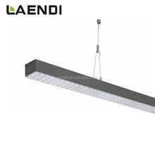 2018 UGR<19 linkable installation industrial warehouse led linear high low bay light