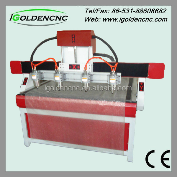high speed blank wood case for iphone 4 axis rotary wood cnc router