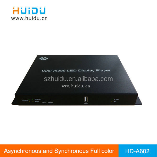 advertising p10 led display screen video wall controller
