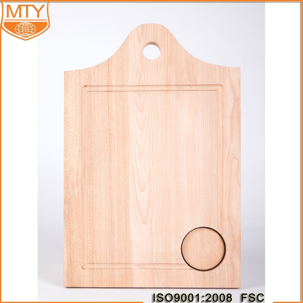 TY-W0196 Rectangle High Quality Wooden Cheap Sale Carved Cutting Boards