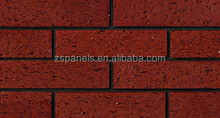 Outside building materials cladding fired thin brick tiles , wall brick cladding split tiles, terracotta klinker facade tile