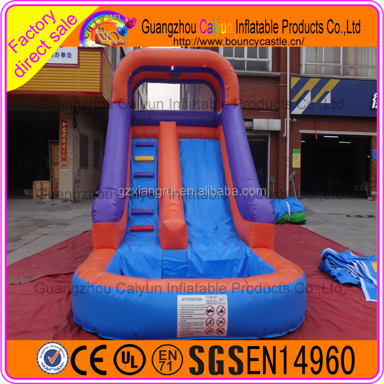 Outdoor Amusement Giant Inflatable Hippo Water Slide for Adult