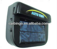 Lage Prijs 1 W Zonne-energie Auto Window Air Vent Ventilator Mini Airco Koeler Auto Fan