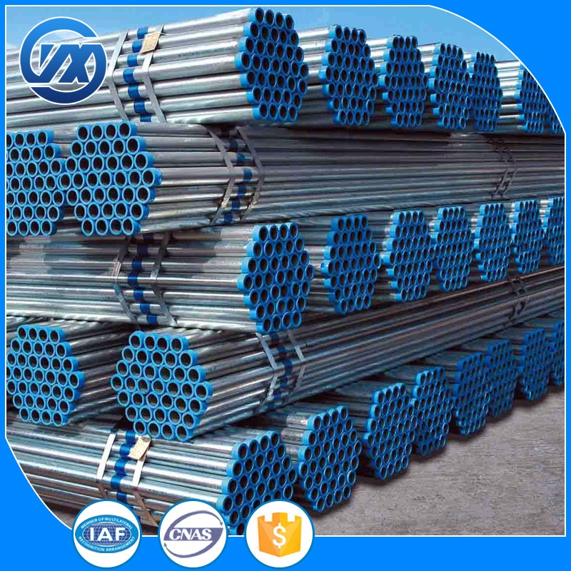 buy China manufacture round metal galvanized steel pipe price from china