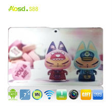 OEM android 4.1 a13 mid android kids android tablet 3d games S88