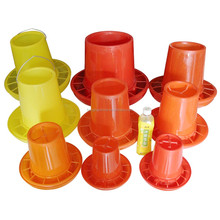 Hot sale plastic chicken feeder with different sizes