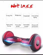 10 Inch Hoverboard Electric Scooter Hover Board with LED Lights Bluetooth Speaker And Free Remote Control