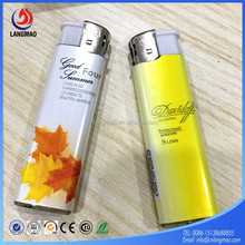 Top quality cheap long lasting cigarette case with plastic disposable lighter in China factory