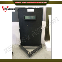 Al2O3+Aramid/Pe Black bullet proof riot shield sale