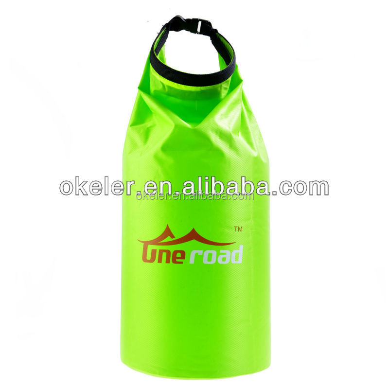 2016 Hot selling 5L/10L/15L/20L PVC Tarpaulin/waterproof Dry bag, Ocean pack dry bag