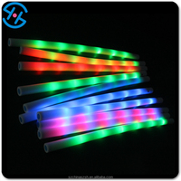Float LED light up water noodles foam lighting pool tubes for swimming party