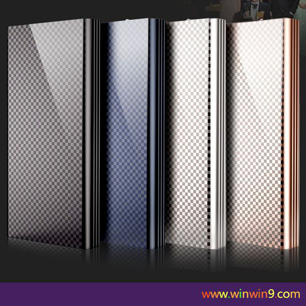 Newest super High end OEM external bettery wireless power bank 20000mAh