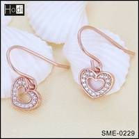 Latest New Design 925 Sterling Silver Jewelry Fashion Earring