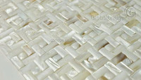 pearl mosaic shell mosaic mosaic tile sticker white vaulted for home