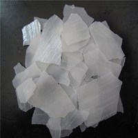 Factory Direct Supply New Material Caustic Soda Flakes Sodium Hydroxide 98% 99% In 25kg Bag