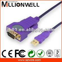 USB 1.1 to RS232 Serial port cable