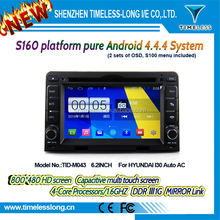 s160 Android 4.4 Capacitive Screen Car DVD FOR hyundai I30 Auto AC With GPS Radio