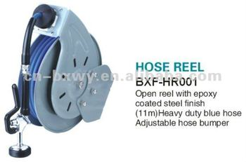 Open Retractable Hoes Reel