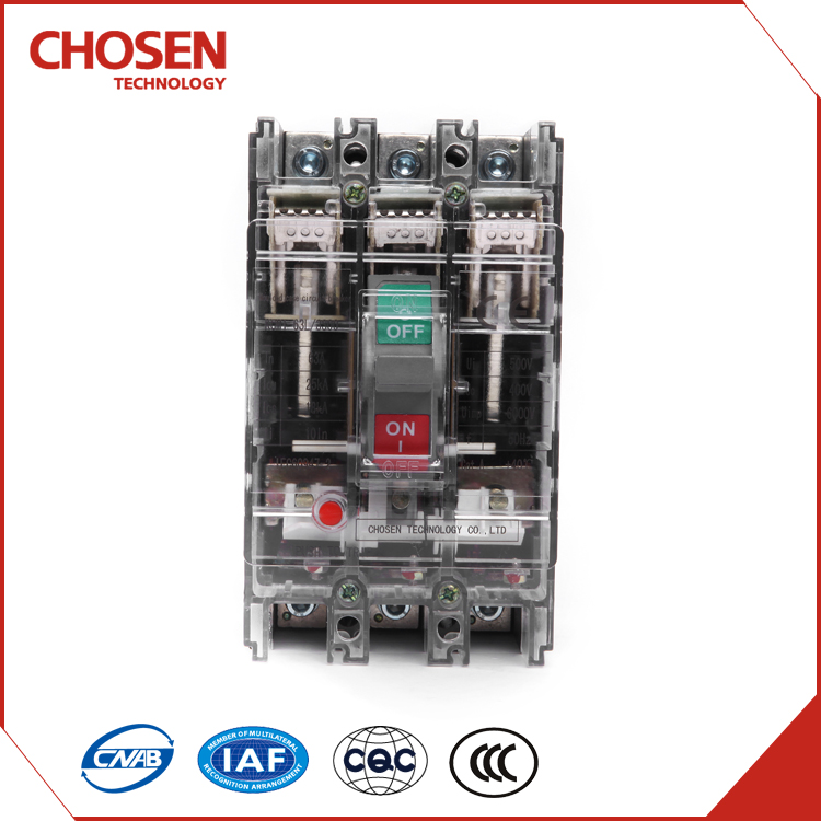690v 3 phase mccb, 63amp ac plastic moulded case circuit breaker
