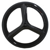 Carbon trispoke wheel 700c racing bicycle rim oem road bike aero spoke wheelset 3 spokes clincher wheels