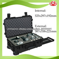 Low Price shanghai manufacturer M2500 waterproof hard plastic professional camera case