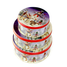 Custom Printing Christmas Metal Tin Box