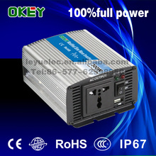 High quality mini size fixed wave inverter solar 300w DC24v to AC110v/220v OPIM-300 single output power inverter