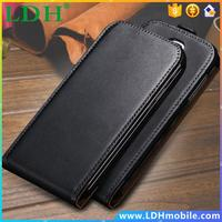 Note 2 Cases Black Classic Real Genuine Leather Mobile Phone Case For Samsung Galaxy Note 2 N7100 II Vertical Flip Back Cover