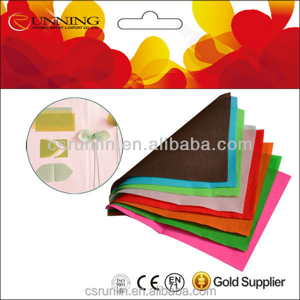 Alibaba supplier colorful Plain crepe Paper for wrapping and DIY