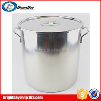 stainless steel 30 gallon stock pot with lid steel barrel large stock pot with lid double bottom stainless steel stock pot