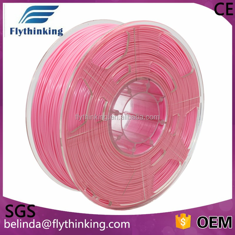 3d printing filament 1.75mm 3mm pla abs hot selling No bubble biodegratable good toughness