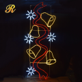 2D led christmas motif light for outdoor street decoration