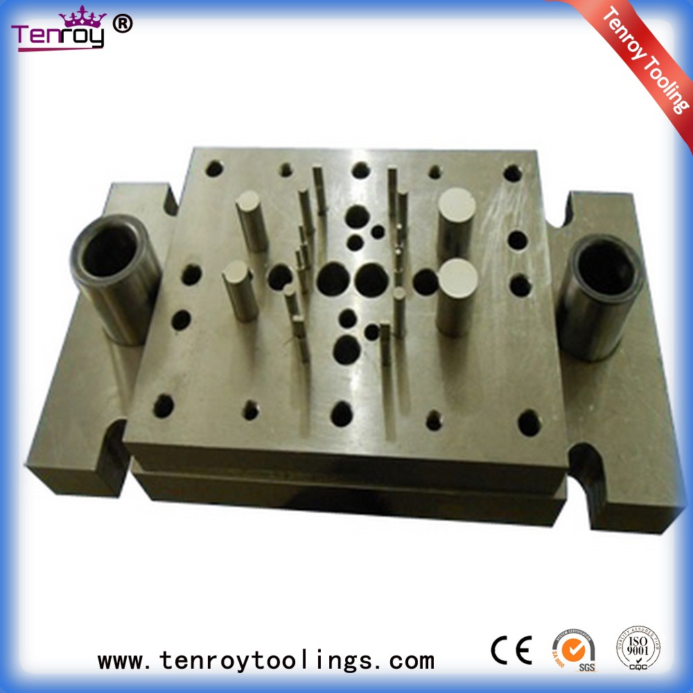 Tenroy compound tools,precision toilet soap stamping dies machine,reinforcing plate stamping die