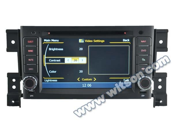 WITSON audio car system SUZUKI GRAND VITARA 2005-2012 WITH A8 CHIPSET 1080P V-20DISC WIFI 3G INTERNET DVR SUPPORT