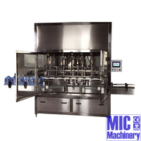 MIC-ZF-8 bottle filling line oil bottle piston filler bottling filling machine manufactory with CE Approved speed up to 1500BPH