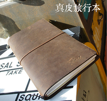 Handmade Band Portable Retro Journal Memo Dream Notebook Paper leather notebook