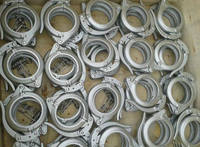 Clamp (Concrete pump parts, pipe, elbow, reducer, rubber hose, cylinder)(Putmeister, Schwing, Sany, Zoom, KCP, Junjin)