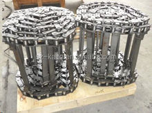 KAITO ABG Volvo asphalt paver spare parts conveyor track chains with cheap price