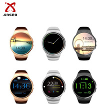 Dual OS Android and IOS Phone kw18 smartwatch